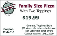 Family Size Pizza Coupon